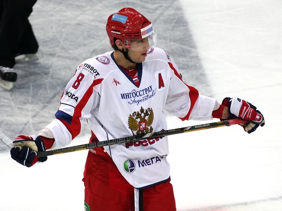 Овечкин получит награду за вклад в развитие хоккея в США