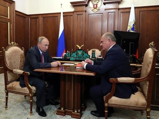Путин согласился обсудить «ремонт выборной системы»