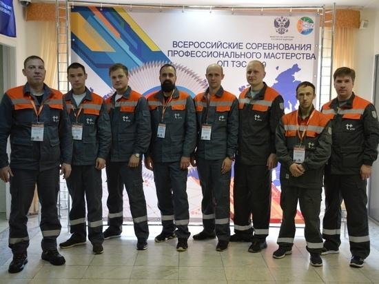 Команда Владимирского филиала «Т Плюс» одержала победу на Всероссийских соревнованиях профмастерства