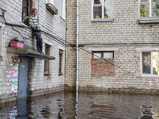 Жителей Комсомольска-на-Амуре предупредили о новом подтоплении домов