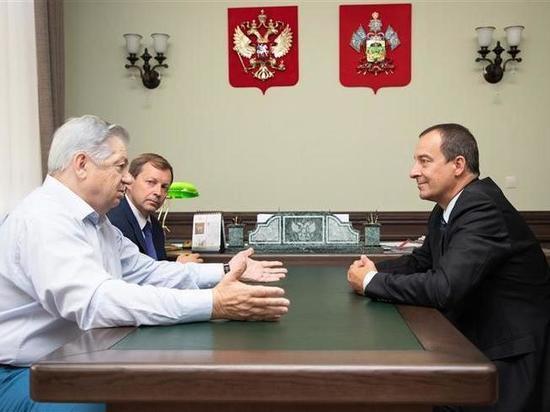 Спикер ЗСК обсудил с руководством «Ассоциации коневодов Кубани» проблемы отрасли
