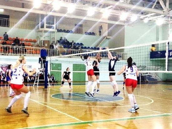 Тамбовские волейболисты борются за Кубок ЦФО