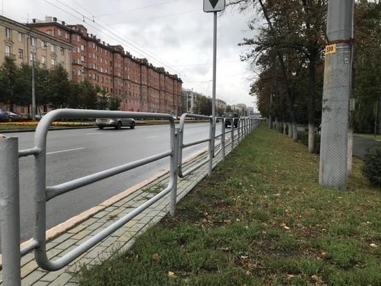 В Челябинске уберут дорожные ограждения на проспекте Ленина