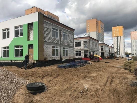 Детские сады в микрорайонах «Седьмое небо и «Бурнаковский» построят в 2019 году