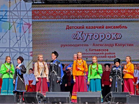 Детские фольклорные коллективы съезжаются в Ставрополь со всей России