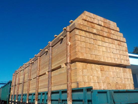 В Алтайском крае снизился объем экспорта леса