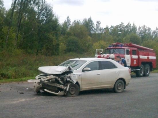 Два водителя травмированы в ДТП под Калугой