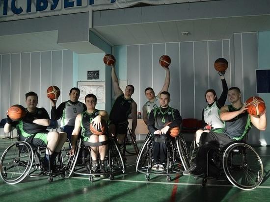 Команда «Легион Югра» готовится к Всероссийским соревнованиям по баскетболу на колясках