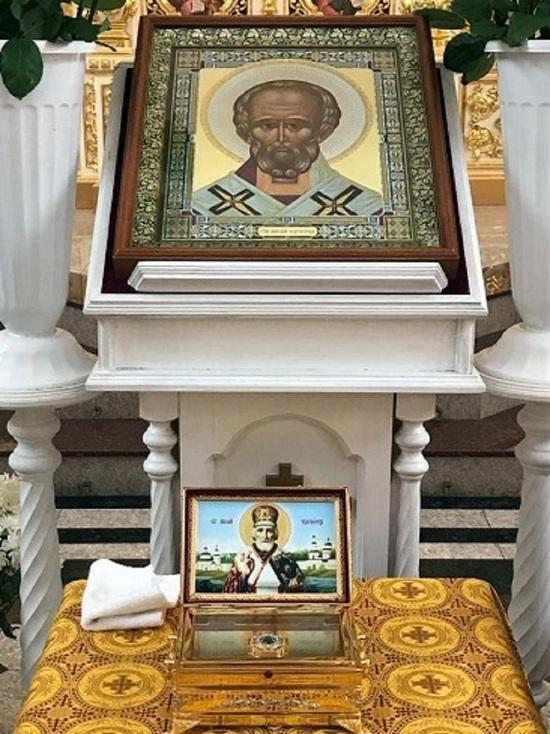 В Тверскую область прибудет ковчег с мощами Николая Чудотворца