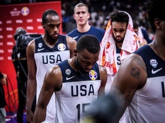 Американцы провалили Кубок мира по баскетболу