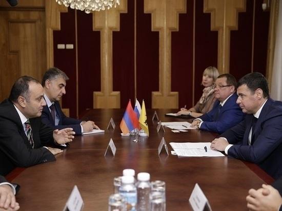 Дмитрий Миронов обсудил с послом Армении будущее сотрудничество