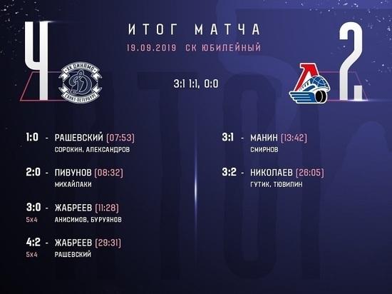 «Локо» потерпел первое поражение в сезоне