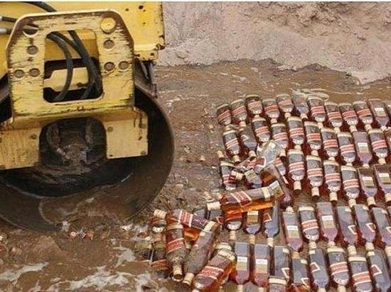 В Новосибирске судебные приставы конфисковали 200 бутылок спиртного