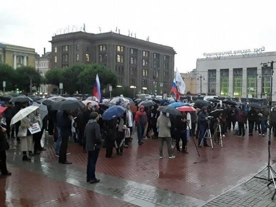 Петербуржцам предложили деньги за выход на митинг