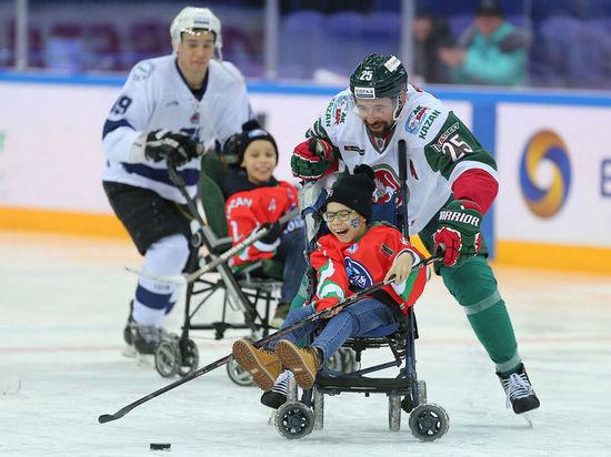 В Казани пройдет благотворительный хоккейный матч