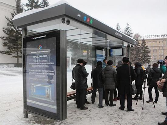 В Новосибирске «умные» остановки будут общаться с глухими пассажирами