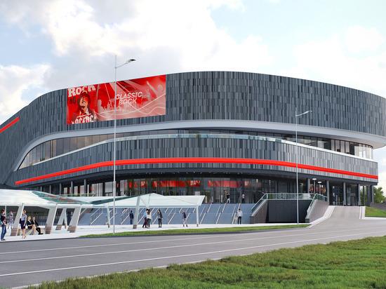 «САФМАР» Михаила Гуцериева откроет концертную арену на 11 500 мест рядом со Сколково