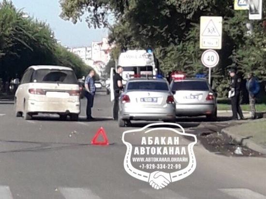 В Абакане водитель иномарки сбил мотоциклиста