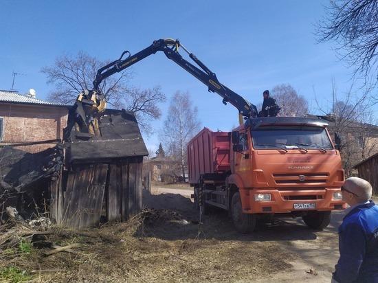 Аварийные сараи в Сормовском районе снесут в течение месяца