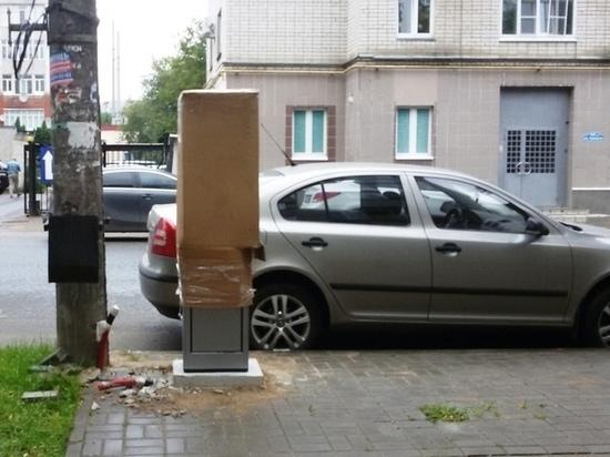 Парковка на Суворова в Калуге станет платной с 1 ноября