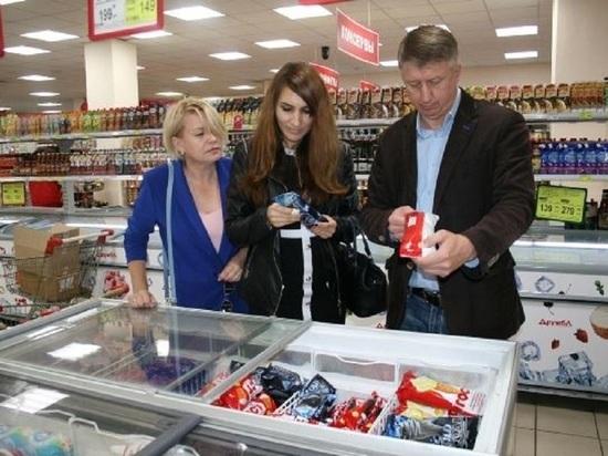 Народные контролеры в Рыбинске проверили качество товаров в супермаркете «Дружба»