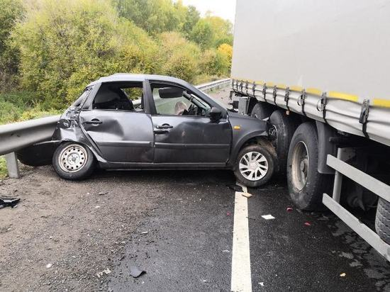 Молодой водитель погиб на трассе М-7 в Лысковском районе