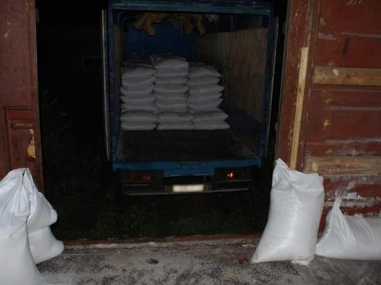 В Томской области спецназ МВД задержал троих граждан, «разгрузивших» железнодорожный вагон