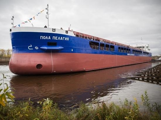 Сухогруз серии RSD59 «Пола Пелагия» спущен на воду в Нижнем Новгороде