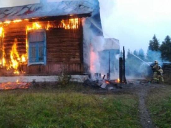 На Смоленсщине ужчина убил собутыльника и поджег его вместе с домом