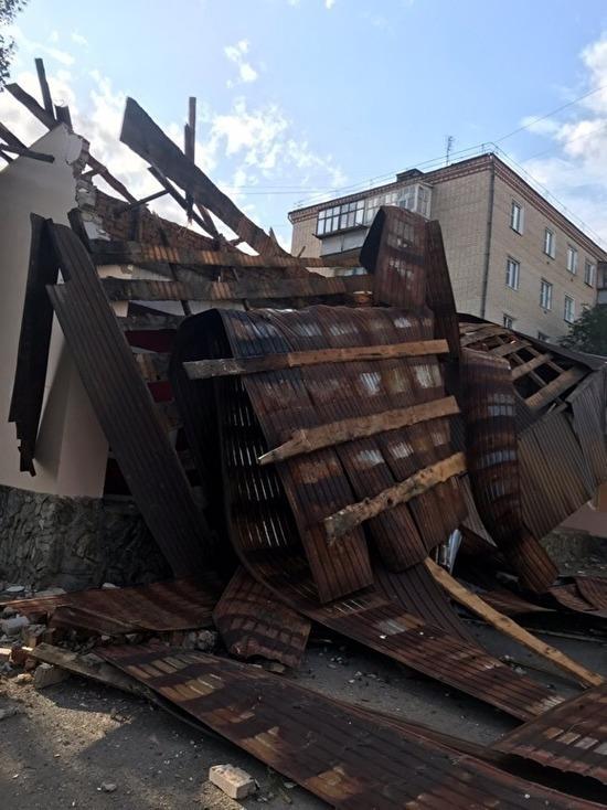 На юге Челябинской области введен режим ЧС после урагана