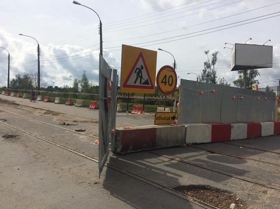 В Твери продолжается капремонт Бурашевского путепровода