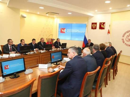 Глава региона Олег Кувшинников представил новый состав Правительства Вологодской области