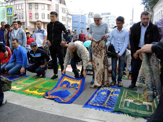 Муфтий заявил о росте числа мусульман в Москве до трех миллионов