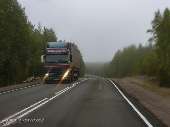 Водителей Карелии предупредили о буровзрывных работах на трассе «Кола»