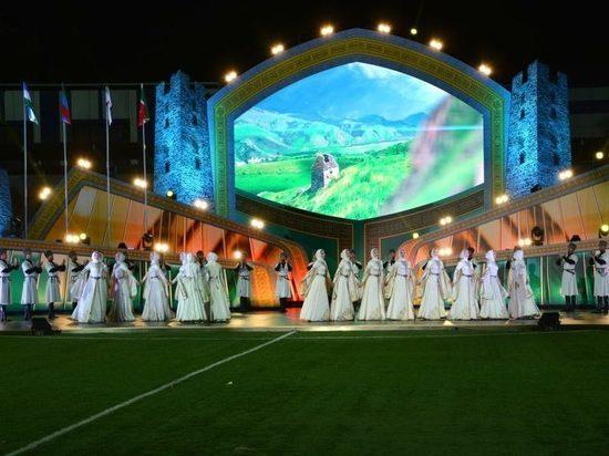 Фестиваль культуры и спорта народов Кавказа открывается в Грозном