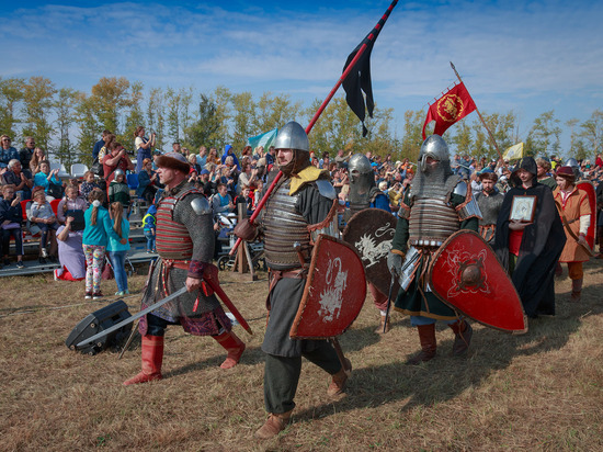 Годовщину Куликовской битвы масштабно празднуют в Тульской области