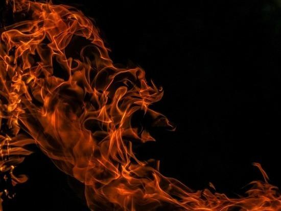 В чеченском Шали горел мебельный склад