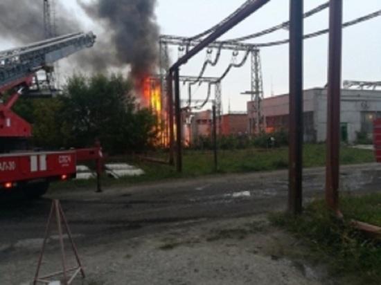 На курганской ТЭЦ произошел пожар