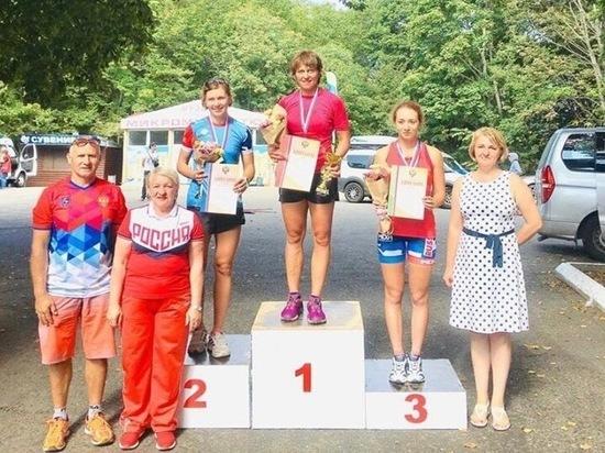 Рязанцы завоевали медали Кубка России по лыжероллерам