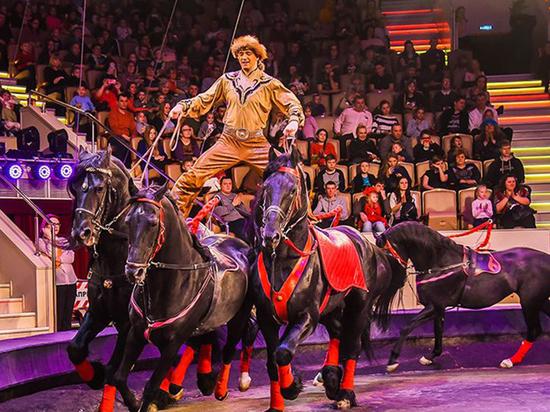В Рязанском цирке началась новая программа «Горская легенда о любви»