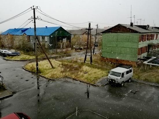 Снег выпал в Лабытнанги и Салехарде