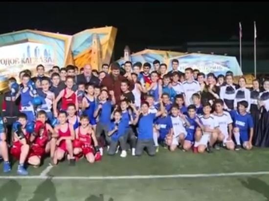 Чеченская команда – лидер Х-го Фестиваля культуры и спорта народов Кавказа