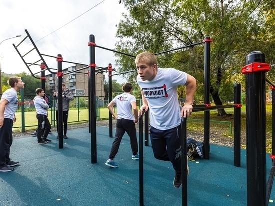 В Челябинске появились три новые площадки для воркаута