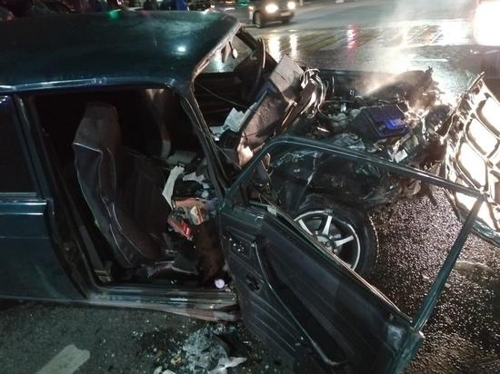 В ГИБДД озвучили подробности вечерней аварии в Туле