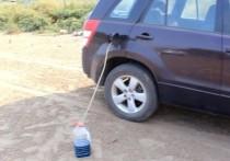 На глазах у оренбурженки чуть не ограбили ее машину