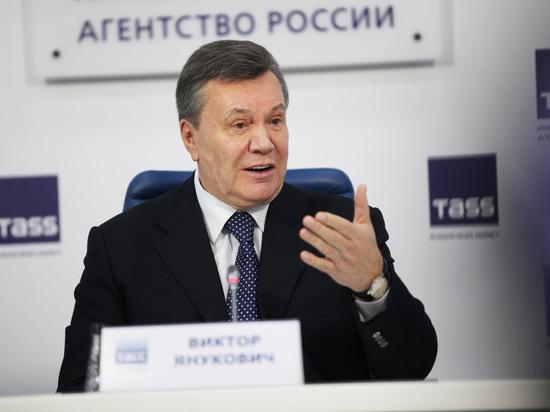 Янукович приготовился к возвращению на Украину