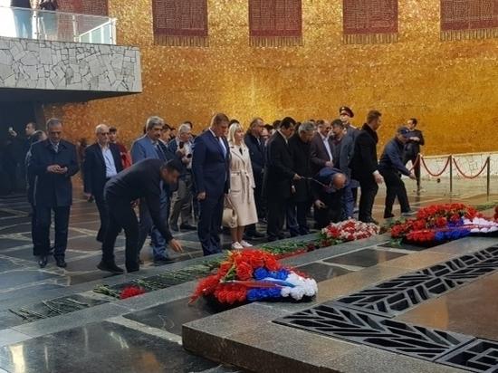 Иранцы поклонились памяти защитников Сталинграда