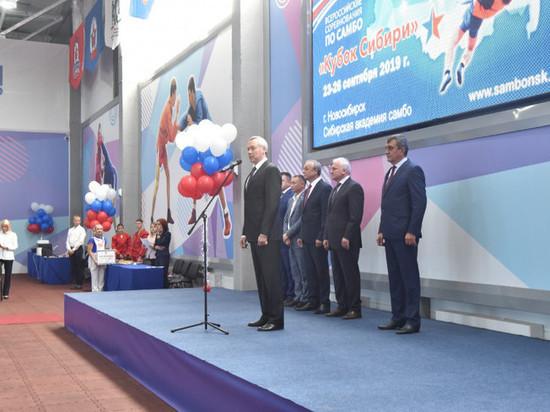 Губернатор НСО Андрей Травников открыл единственный за Уралом специализированный центр самбо