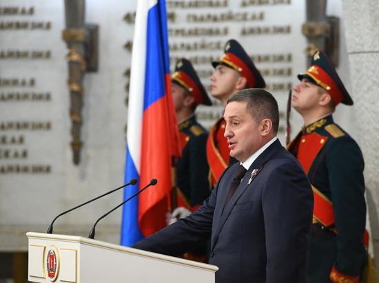 Андрей Бочаров после присяги вступил в должность губернатора на второй срок