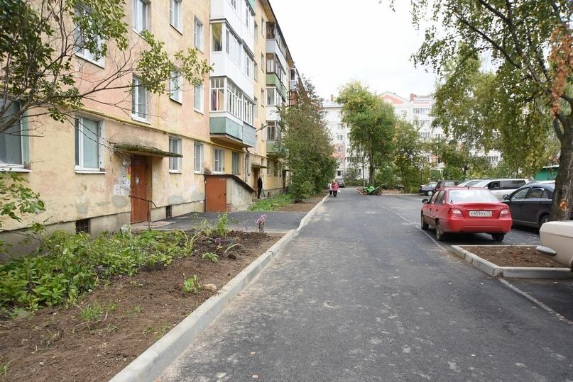 28 дворов привели в порядок по проекту «Городская среда» в Вологде